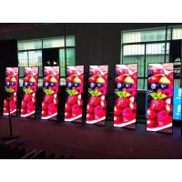Buy cheap Super Slim Poster LED Display Advertising Poster 800~1500 Nits Aluminum Cabinet Material product
