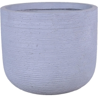 Buy cheap Grey Mottle Lightweight Tall Oval Concrete Planter Pots   Unique Design   Handicraft   UV-Resistant and Eco-Friendly product