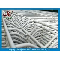 Buy cheap White Electric Galvanized Welded Wire Mesh Fence 2.0m Width For Sightseeing Zone product