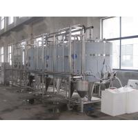 Buy cheap 500LPH Full Auto CIP Cleaning System PLC Control For Dairy Processing Equipment product