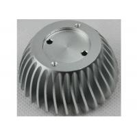 Buy cheap Anodized CNC Aluminium Parts , LED Bulb Light Stamped / Extruded Heat Sink product