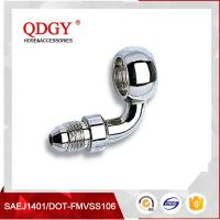 Buy cheap qdgy steel material chromed plated coating qdgy 10MM ( 3/8 ) BANJO BOLT - 90 degree product