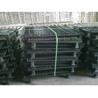 Quality Stackable Convenient Wire Mesh Container Unload Wire Container Storage Cages for sale