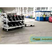 Buy cheap Towing AGV Guided Vehicle , AGV Magnetic Tape Two Tons Loading For Dolly Movement product