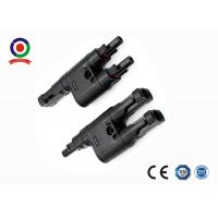 Quality Solar Panel MC4 Branch Connector T Branch 2 To 1 Waterproof IP67 CE for sale