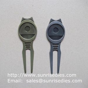Buy cheap Golfer Divot tools for repairing pitch mark, Wholesale Metal Golf Divot repair tools product