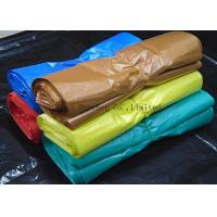 Buy cheap Recyclable Supermarket Custom Printed Plastic Shopping Bags With Handles Multi from wholesalers