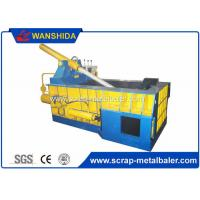 Buy cheap Copper Wires Scrap Metal Baler Baling Equipment 250 × 250mm Bale Size product