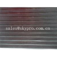 Quality Smooth / embossed Surface heavy duty Rubber Sheet Roll , 2.5mm-20mm Thickness for sale