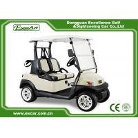 Buy cheap ISO/CE Approved Electric 2 Seater Golf Cart 275A Curtis Controller/Trojan Battery from wholesalers