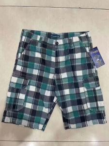 Buy cheap Mens Summer Plaid Design 6 Pockets Cargo Shorts ** Stock SSF-720324 /33 product