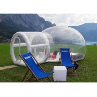 Buy cheap Outdoor Single Tunnel Inflatable Bubble Tent Camping Family Stargazing For Rent product