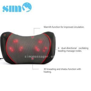 One Button Control Electric Massage Pillow Homedics 3d Shiatsu Massage Pillow With Heat