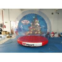 Buy cheap Custom Inflatable Snow Globe Photo Booth / Blow Up Christmas Globe from wholesalers