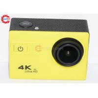 Quality 50hz  4k Sports Camera , Diving 30m Waterproof Video Camcorder 1050mah for sale