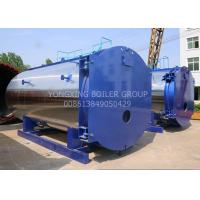 WNS15ton 1.25Mpa New Design Low-nitrogen Condensing Gas Fired Steam Boiler For Industrial for sale