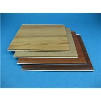 Buy cheap Laminate Pattern DIY Natural PVC Wall Panels For Interior Home Decoration product