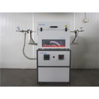 Buy cheap Open Type FGL Laboratory Tube Furnace , Heat Treatment Furnace 50mm Tube Dia product