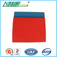 Buy cheap All Weather Running Track Surfaces Pattern System Stadium Rubberised Flooring from wholesalers
