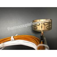 Buy cheap IP65 Press In Brass Nozzle Coil Heaters For Hot Runner System / Injection Mold product