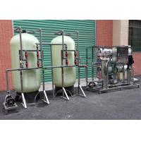 Buy cheap 3TPH RO System Industrial Reverse Osmosis Plant For Borehole Water Treatment product