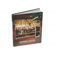 Quality Softcover Custom Cookbook Printing Perfect Binding for sale