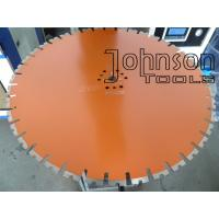 Buy cheap 650mm Diamond Wall Saw Blades with Long Lifetime , Diamond Cutting Tools product