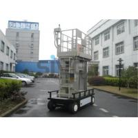 Buy cheap Aluminium Mast Self Propelled  Aerial Lift 12m For Office Buildings product