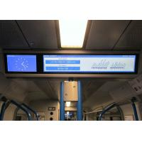 Buy cheap Professional Electronic Passenger Information Display Audio Capability Available For Subway product