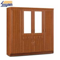 Buy cheap Shutter Style Closet Doors , Louvered Shutter Doors For Dressing Room Cabinets product