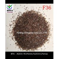 Buy cheap Brown aluminum oxide with non magnetic macrogrits for sandblasting pipe and tanks product