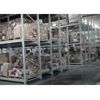Buy cheap Push back pallet racking for warehouse storage product