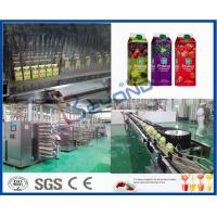 Buy cheap Concentrated Beverage Production Line Fruit Juice Processing Line Electric from wholesalers