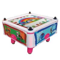Buy cheap New Design Arcade Amusement Games Machine Kids Coin Operated 4 Person Air Hockey from wholesalers