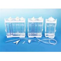 Buy cheap Portable Vacuum Drainage System Wound Care Double chamber 2500ml Fr16 Fr18 product