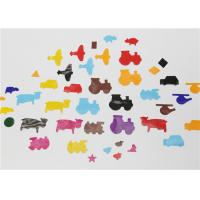 Buy cheap Decorative Animal Shape Gummed Paper Shapes Mixed Size Colour Geometry Art 80GSM product