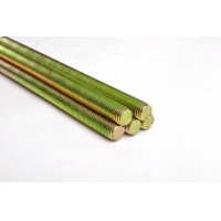 Buy cheap Yellow Zinc Plated Class 4.8 M18 Carbon Steel Threaded Rod from wholesalers