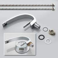 Buy cheap Chrome Plate High End Small Bathroom Sink Faucets 35MM Ceramic Cartridge from wholesalers