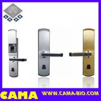 Buy cheap Fingerprint Door Lock for Steel Door with Slide Cover product