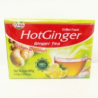 Buy cheap Healthy Instant Drink Powder , Sweet And Warm Lemon Flavor Ginger Tea product