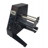 Buy cheap 3W Automatic Label Dispenser Machine Black Color 250mm Diameter For Packaging product