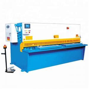 Buy cheap QC12Y Metal Shearing Machine / CNC Metal Plate Hydraulic Cutting Machinery product
