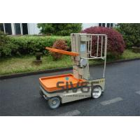 Buy cheap 5.1m Working Height Aerial Order Picker Electric Cargo Handling Work Platform product