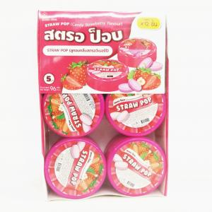 Buy cheap Round box design Mint candy / Strawberry flavor compressed mint candy Strong mint product