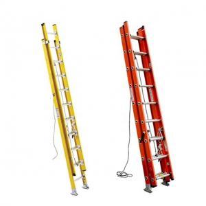 Buy cheap 10 Meter FRP GRP Fiberglass Telescoping Ladder , Industrial Warehouse Step Ladder product