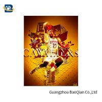 Buy cheap Colorful 3D Lenticular Poster Printing For NBA Advertising 50 * 71cm product