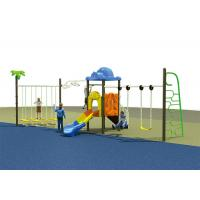 Buy cheap Trapeze Bar Kids Garden Swing Set Adjustable Type Plastic Material Eco - Friendly product