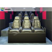Buy cheap Flexible Smooth 5D Chairs Of 5D Cinema Electric System With Low Energy And Easy from wholesalers