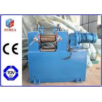 Buy cheap Lab Plastic Rubber Mixing Machine Two Roll Mill XK-160 High Power Utilization product