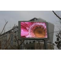 Quality Wall Mounted P10 Outdoor Full Color Led Display For Commercial Advertising for sale